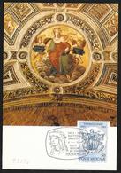 Vaticano/Vatican: Maximum, Affresco Di Raffaello, Fresco By Raphael, Fresque De Raphaël - Arte