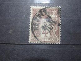 "VEND BEAU TIMBRE DE FRANCE N° 88 , OBLITERATION "" RENNES "" !!! (b) - 1876-1898 Sage (Type II)"