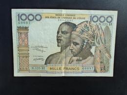 NIGER : 1000 FRANCS   ND  (signature 10)    P 603H L.     TTB * - Niger