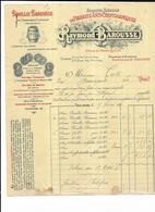 """Haute Garonne 31 Toulouse Abrique Produits Anti Cryptogamiques """" BOUILLIE BAROUSSE """" Raymond BAROUSSE Quai Des Minimes - 1900 – 1949"""