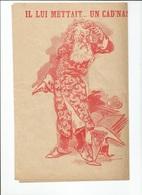 Partition Musicale :  Il Lui Mettait...un Cad'nas Par GEORGIUS, Au Casino St Martin - Chansonniers