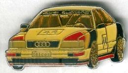 Pin's Voiture Automobile Rallye Audi - Audi