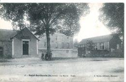 N°2799 T -cpa Saint Berthevin -la Marie -école- - Other Municipalities