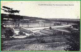 Frankreich RETRO CPA 1919 Clairvaux Abbey ( Aube ) Vue Générale De La Maison Centrale K. Rale Photographer Bar Sur Aube - Altri