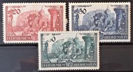 LIECHTENSTEIN 1939 - MLH - Sc# 154, 155, 156 - Complete Set! - 156 Heavily Damaged On Front!!! - Ungebraucht