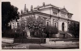 CRAIOVA / DOLJ : BANCA NATIONALA - CARTE VRAIE PHOTO ANCIENNE / REAL PHOTO POSTCARD ~ 1930 - '935 (ad778) - Rumänien