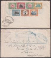 Guatemela - Lettre Yv.120x2+121/24+128 En Recom.de Huehuetenango 24/12/1914 Vers Londres (RD365)DC5878 - Guatemala