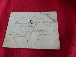 V.P 2, Lettre De Toulon Sur Mer 78, Pour Montargis, 30 Janvier 1827 - Marcofilia (sobres)