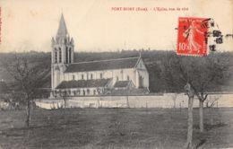 Port Mort (27) - L'Eglise Vue De Coté - Frankreich