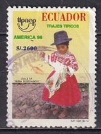 Ecuador 1996 - America UPAEP - National Costume - Ecuador