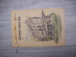 Vieux Menu COMME CHEZ SOI , Place ROUPPE à BRUXELLES ( Illustration Van Rymenant )   RARE - Menu
