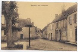 CPA 46 MARTEL RUE PORTE PINCHE - France