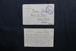 MAROC - Enveloppe + Contenu Du Service Des Renseignements De Dar Ould Zidouh Pour La France En 1916 -  L 51854 - Maroc (1891-1956)