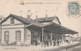 BECON LES BRUYERES ( Intérieur De La Gare ) - Sonstige Gemeinden