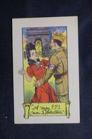 MILITARIA - Carte Postale Offerte Aux Soldats FFI - A Mon FFI, Mon Libérateur -  L 51861 - Guerra 1939-45