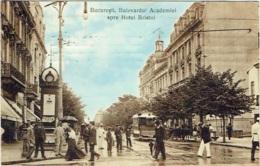 Bucuresti. Bulevardul Academiei Spre Hotel Bristol - Roumanie