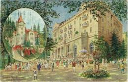 Tchéquie. Marienbad. Hôtel Esplanade E Villa St. Hubertus. - Czech Republic