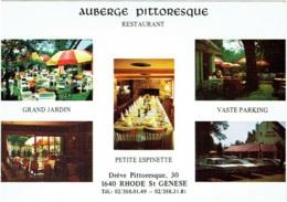 Sint-Genesius-Rode. Rhode-St.-Genèse. Auberge Pittoresque. Restaurant. Crèpe Flambée à La Mandarine Napoléon. - Rhode-St-Genèse - St-Genesius-Rode