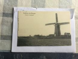 OOSTKAMP  MOLEN //   ENVIRONS DE BRUGES MOULIN A OOSTCAMP   NELS SERIE 12 N° 88 - Oostkamp