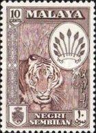 USED STAMPS MALAYSIA ,Negeri-Sembilan - Coat Of Arms  -1949 - Negri Sembilan