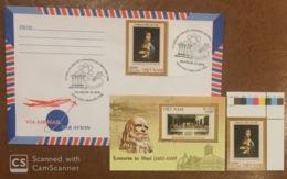 Vietnam Viet Nam MNH Perf Stamp & Souvenir Sheet2019 : 500th Death Anniversary Of Leonardo Da Vinci (Ms1116) - FDC Sent - Viêt-Nam