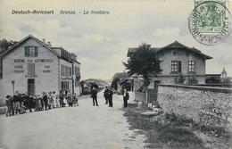 Deutsch-Avricourt - Grenze - La Frontière - France