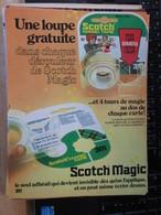 SPI2020  Issu De Revue SPirou Années 70/80 / 1 PAGE DE PUBLICITE POUR SCOTCH MAGIC - Publicités
