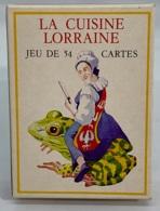 Jeux De 54 Cartes à Jouer. 4 Index. Publicité  La Cuisine Lorraine. - 54 Cartes