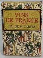 Jeu De 54 Cartes à Jouer. Publicité Vins De France. Cartes Et Notice. Bel état. - 54 Cartes
