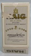 Jeu De 54 Cartes à Jouer. Publicité Haig Gold Label Scotch Whisky. Boîtier Abimé. (voir Photo). - 54 Cards