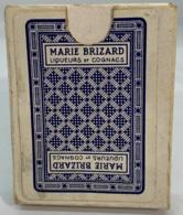 Jeu De 54 Cartes à Jouer. Publicité Marie Brizard. Liqueurs Et Cognacs. Boîtier Usagé, Cartes En Bon état.  Années  '60 - 54 Cartes