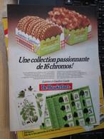 SPI2020  Issu De Revue SPirou Années 70/80 / 1 PAGE DE PUBLICITE COLLECTION DE CHROMOS GAUFFRES DE BEUKELAER - De Beukelaer