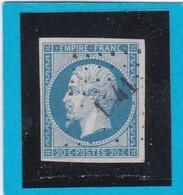 N° 14A  PC 1541  ISIGNY  ( 13 )  CALVADOS  - REF 14112 - 1853-1860 Napoleon III