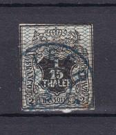 Hannover - 1856/57 - Michel Nr. 11 - Gest. - 100 Euro - Hanover