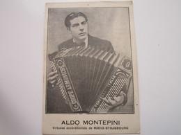 L'AS DE L'ACCORDEON - ALDO MONTEPINI - Virtuose Accordéoniste De RADIO-STRASBOURG - Musique Et Musiciens