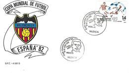 Spain - World Cup Spain'82 - Postmark - Puchades (Valencia) - 1982 – Spain