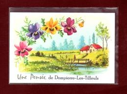 25-CARTE POSTALE DE DOMPIERRE LES TILLEULS - France