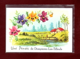 25-CARTE POSTALE DE DOMPIERRE LES TILLEULS - Francia