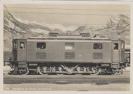 D-1 Personenzugslok Für Den Simplon-Tunnel - Elektrifizierung Der SBB       (00201) - Trenes