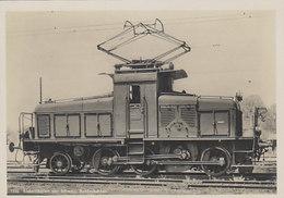 1C - Rangierlokomotive - Elektrifizierung Der SBB       (00201) - Trenes