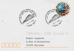 France, Bureau Postal Militaire,BPM  507  Fermeture Du Bureau De Baden-Baden En 1999  TB - Marcophilie (Lettres)