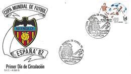 Spain - World Cup Spain'82 - Postmark - Valencia - 1982 – Spain