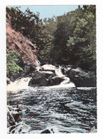 24 Saint St Pardoux Le Rivière Vers Nontron N°5 Les Cascades Du Saut Du Chalard Sur La Dronne En 1973 VOIR DOS - Nontron