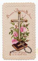 SOUVENIR DE BERNADETTE SOUBIROUS DECEDE A SAINT GILDAR AVRIL 1879  IMAGE XIXéme - Images Religieuses