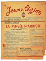 LÉGION FRANÇAISE DES COMBATTANTS Et Des VOLONTAIRES DE LA RÉVOLUTION NATIONALE, JEUNE LÉGION N°20 15 SEPT.1943 - 1900 - 1949