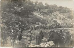 Carte-photo - Campagne Contre Les Druzes (1925/1926) - HASBAYA - Barrage Fait Par Les Druses. Animée, BE. - Guerres - Autres