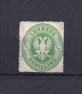 Lübeck - 1863/67 - Michel Nr. 8 A - Ungebr. - 20 Euro - Lubeck