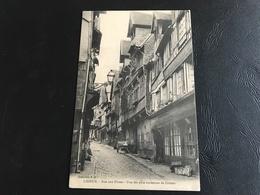 LISIEUX Rue Aux Fevres - Une Des Plus Anciennes De Lisieux - Lisieux