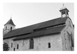 MONTREAL-LA-CLUSE - L'église Saint-Maurice - France