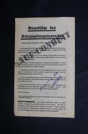 MILITARIA - Sauf Conduit Pour Soldat Allemand Rendu Aux Forces Alliées -  L 51888 - Documents